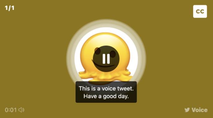 تويتر تضيف وصف للتغريدات الصوتية عبر تحويل الكلام إلى نص بشكل تلقائي لعدة لغات