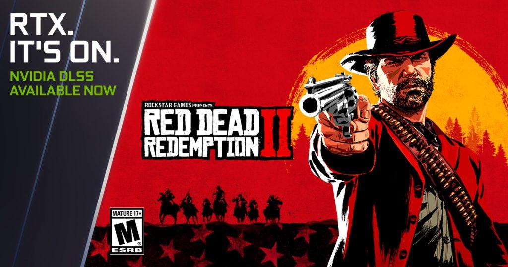 """تحصل """"Red Dead Redemption 2"""" و """"Red Dead Online"""" على تعزيز وزيادة في الأداء بنسبة 45% بفضل دعم تقنية NVIDIA DLSS"""