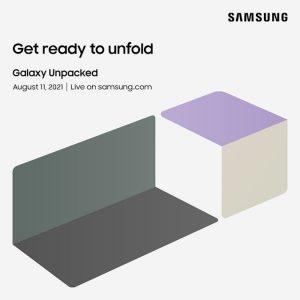 سامسونج تحدد 11 أغسطس لمؤتمر الكشف عن هواتفها القابلة للطي