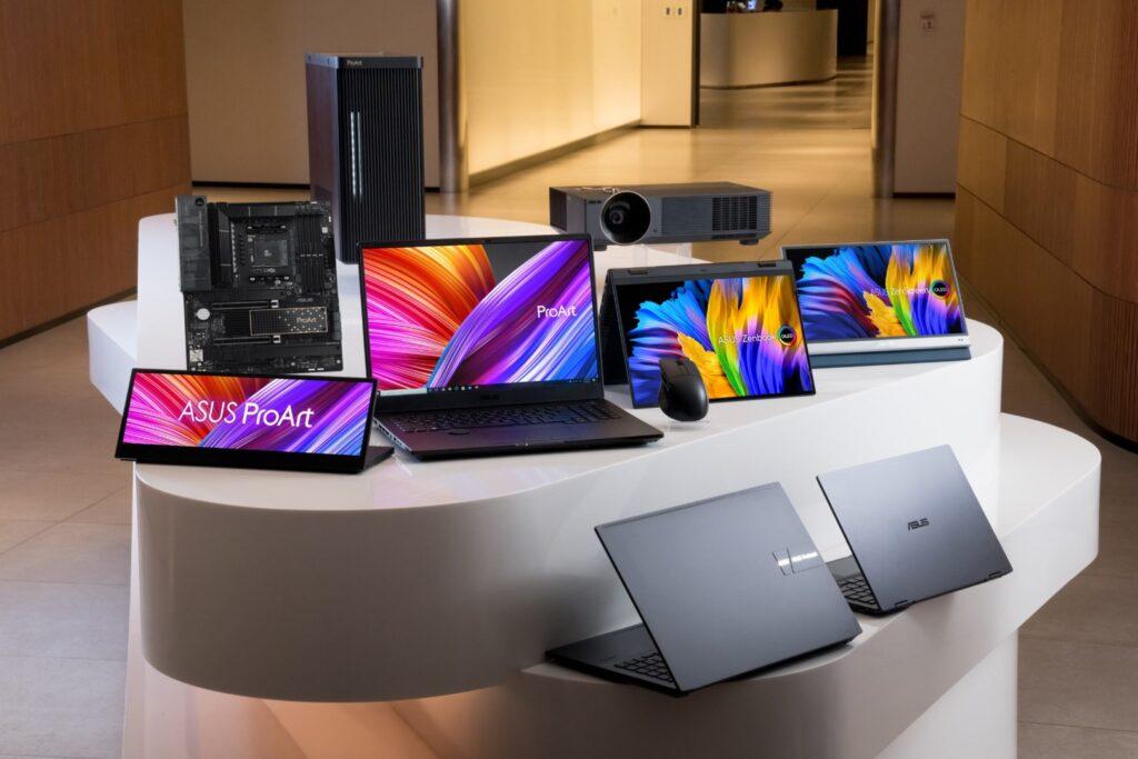 أسوس تُحدث أجهزة ProArt StudioBook و Zenbook Pro و Vivobook مع شاشات OLED