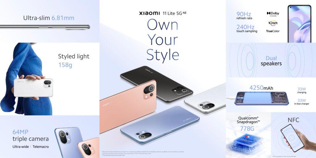شاومي تكشف هواتف Xiaomi وكاميرا