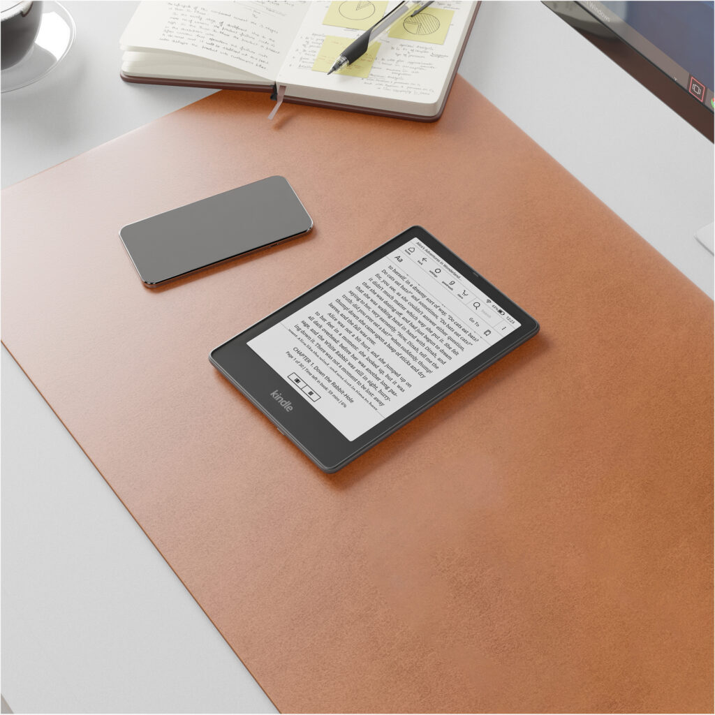 أمازون تكشف عن جيل جديد من أجهزة كيندل Kindle Paperwhite مع إصدار خاص  (Signature Edition)