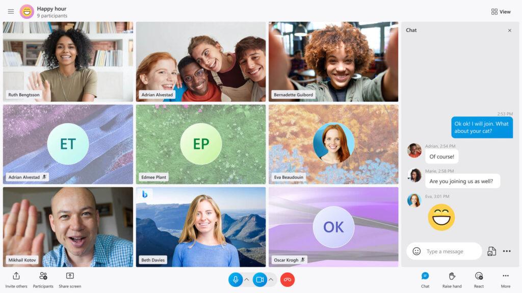 تحديث كبير من مايكروسوفت يصل سكايب يضيف خاصية TwinCam لاستخدام كاميرا إضافية خلال نفس المكالمة