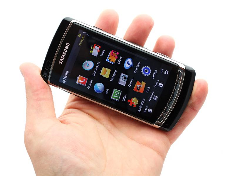 هاتف Samsung i8910 Omnia سيكون